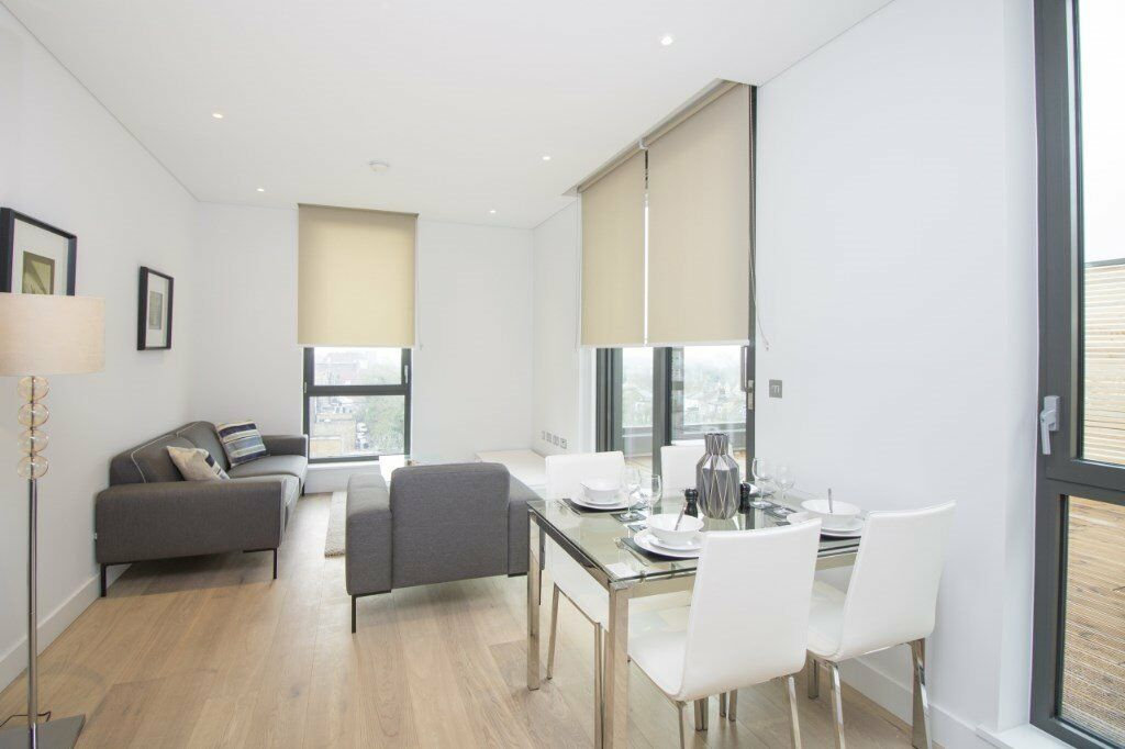 LUXURY 2 BED 2 BATH APARTMENT CAPITAL HOUSE PUTNEY STATION - TERRACE - FURNISHED - WANDSWORTH
