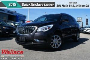 2015 Buick Enclave LEATHER/AWD/MOONRF/HTD SEATS/HTD WHL/NAV/BOSE