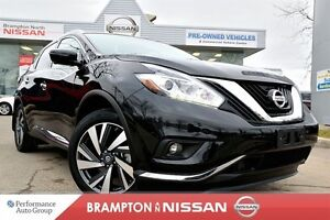 2016 Nissan Murano Platinum *Blind spot warning, Navigation, 360