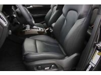 Audi q5 interior s line black napp leather