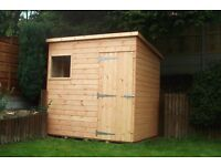 Pent Roof sheds