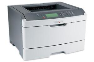 Lexmark E460dn - Workgroup Laser Printer - Monochrome - Up to 40 Pages Per Minute - Parallel, USB, LAN, Wi-Fi(n)