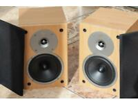 Gale Gold Monitor Speakers VGC