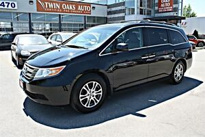 2012 Honda Odyssey EX-L w/RES  PARK ASSIST - DVD - LEATHER -