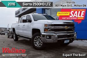 2016 Chevrolet SILVERADO 2500HD LTZ/NO ACCIDENTS/20 INCH WHEELS/
