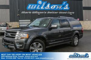 2017 Ford Expedition Max MAX PLATINUM 4X4! LEATHER! NAV! SUNROOF