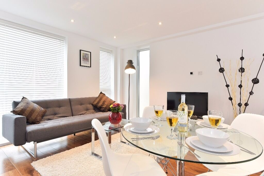 Luxurious 1bed/1bath apartment in Tower Hill area* 3 months minimum* Fully furnished* WiFi included