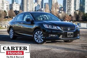 2015 Honda Accord EX-L V6 + LEATHER + SUNROOF +  CERTIFIED!