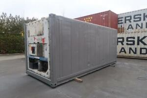 20 Ft Working Refrigerated Shipping Container