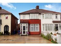 4 BEDROOM SEMI-DETACHED HOUSE TO RENT IN COLIN CLOSE, COLINDALE NW9