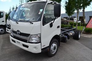 2017 Hino 165-149 Add a Deck or Van. Lease options availa...