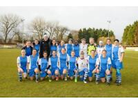 FEMALE FOOTBALL PLAYERS WANTED - TRIALS OPEN!