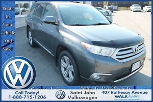 2013 Toyota Highlander V6 Limited $197.92 BI WEEKLY!