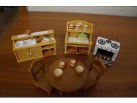Sylvanian family kitchen set