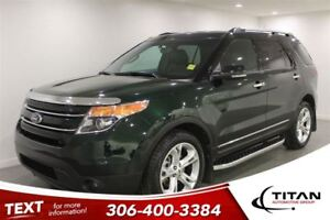 2013 Ford Explorer Limited|Leather|Cam|AWD|3rd Row|PST Paid