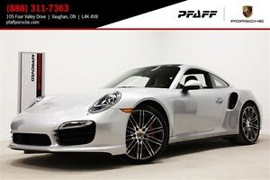 2014 Porsche 911 Turbo Coupe PDK
