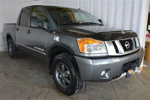 2014 Nissan Titan PRO-4X CREW CAB 4X4, NAV, LEATHER, SUNROOF