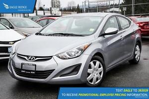 2015 Hyundai Elantra Sport Appearance Heated Seats and Satell...