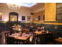 Fun floor staff for full time work in a Gastro pub in Kilburn