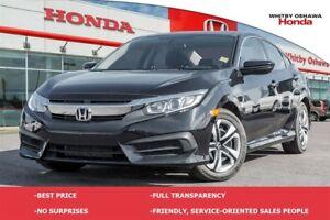 2016 Honda Civic LX | Manual