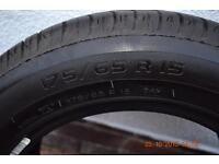 Michelin tyres 15 inch x 4