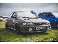 Uk Impreza turbo many upgrades swap transit van