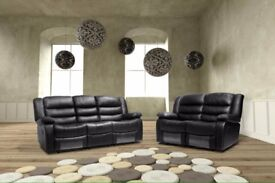 🚚🚛UNIQUE STYLISH🚚🚛BEST BUY AT LOW PRICE🚚🚛BRAND NEW MUSIC 3+2 SEATER SOFA IN BROWN/BLACK COLORS