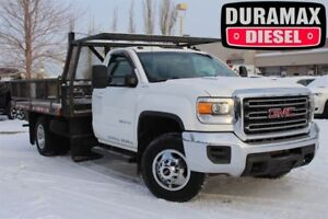 2015 GMC Sierra 3500 Cab-Chassis SLE 4WD Courrier 12 Flat Deck/S