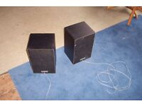 Pair of Sony speakers – 2 way system SSA5 – ok condition -almost giveaway at £1