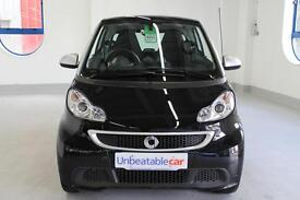 SMART FORTWO COUPE Passion mhd 2dr Softouch Auto [2010] (black) 2014