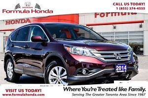 2014 Honda CR-V EX-L-The quality of this far exceeds the Price