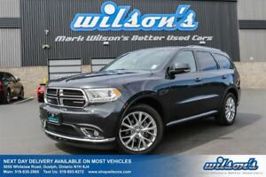 2016 Dodge Durango LIMITED AWD! 7-PASS! LEATHER! DUAL TV+BLURAY!