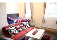 Luxury 1 One Bedroom Studio flat , 30 seconds from Edgware Road Tube Station All Bill Included