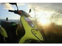 Piaggio scooter, 50cc, typhoon