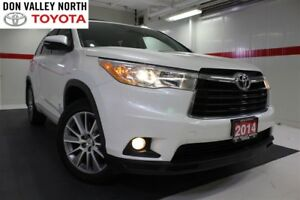 2014 Toyota Highlander XLE V6 AWD Nav Sunroof Btooth BU Camera C