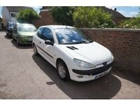 Peugeot 206 GLX in great condition! 12 Month MOT! Great run around car!