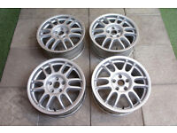 "Speedline Corse GT1 17"" Alloy wheels 5x112 VW Golf Passat Audi A3 A4 Seat Skoda Volkswagen Track"