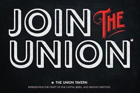 Kitchen Porter - Union Tavern