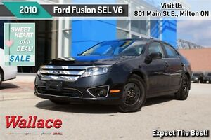 2010 Ford Fusion SEL 3.0L V6/MOONROOF/ACCIDENT-FREE/SYNC/FOGS/8-