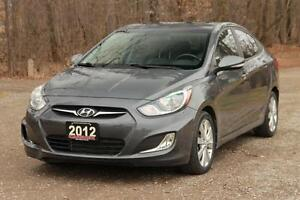 2012 Hyundai Accent GLS | ONLY 34K + Sunroof + Bluetooth +CER...