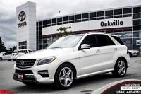 2014 Mercedes-Benz M-Class ML350 BlueTEC, NAVIGATION, 4MATIC, SP