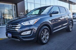 2013 Hyundai Santa Fe LEATHER / ROOF / CAMERA and LOW KMS!!!