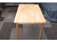 Pine Table kitchen dining table