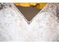COLLECTION ONLY: Essence of Australia bridal gown size 12