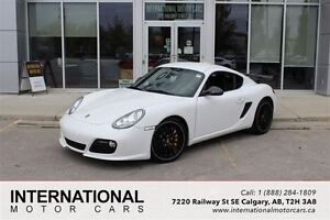 2011 Porsche Cayman S! LOW KMS! CARBON BRAKES! NAVI! MINT!