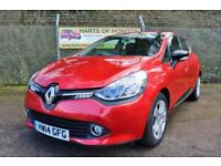 Renault Clio 0.9 Dynamique MediaNav TCE 90 5DR Energy (flame red) 2014