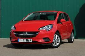 VAUXHALL CORSA 1.3 CDTI ECOFLEX DESIGN [Bluetooth, Dab Radio] 5DR (red) 2015