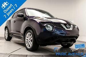 2016 Nissan Juke SV AWD CAMÉRA BLUETOOTH BANCS CHAUFFANTS