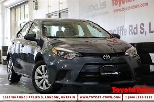 2014 Toyota Corolla SINGLE OWNER LE HEATED SEATS & BACKUP CAMERA