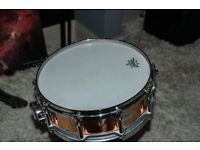 Pearl cooper floating head 5.5 snare drum